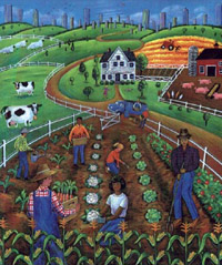 Community Food Security Coalition copyright poster