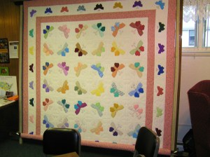 Handmade Butterfly Quilt for Happy Tonics Fundraiser