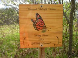 Handmade sign DNR Donation