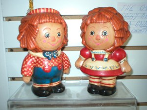 Vintage Raggedy Andy and Ann