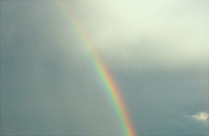 Rainbow over Minong