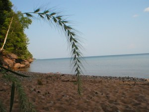 Wisconsin Point, Lake Superior