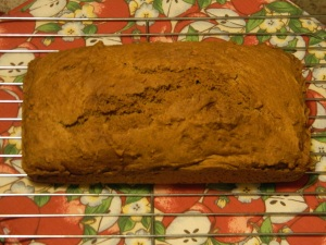 Award winning squash bread copyright Mary Ellen Ryall