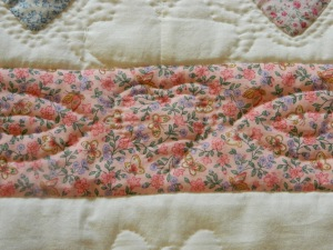 Heart appliqued border