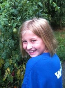 Amelia, my grand niece