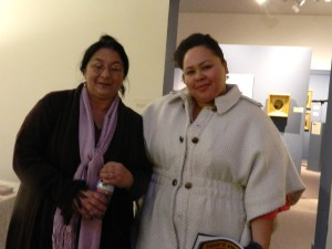 Sheila Lumi and Christine Brown